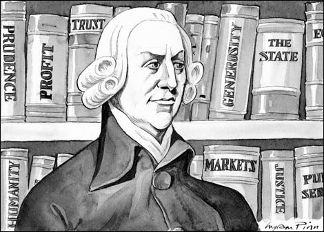 Adam Smith (1723-1790) would frown on Canadian life insurance providers